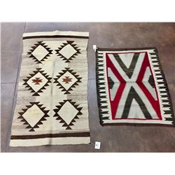 Two Older Navajo Textiles