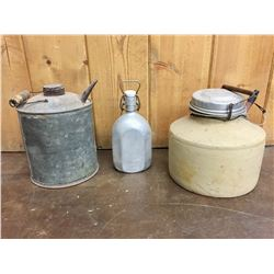 Antique Containers