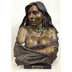 Sweet Sioux Bronze by Greg Polutanovich