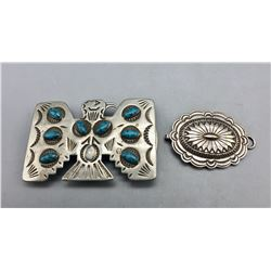 Two Vintage Buckles from Jewel Box Collection