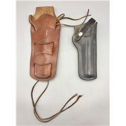 Two Bianchi Leather Holsters