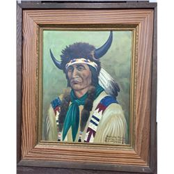 Louis Shipshee Original Art