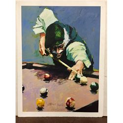 """Billiards"" by Aldo Luongo"