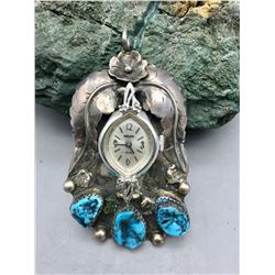 Unique Vintage Watch Pendant