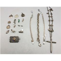 Group of Misc. Mostly Sterling Silver Jewelry