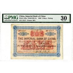 Imperial Bank of China, 1898 ?Peking? Branch Issue.