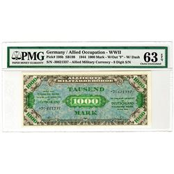 Allied Occupation -WWII Military Currency. 1944. Issued Banknote.