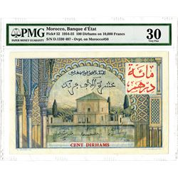 Banque d'_tats. 1954-1955. Issued Banknote.