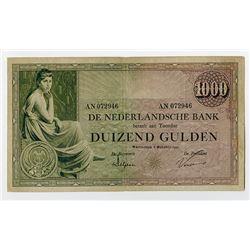 Nederlandsche Bank. 1926. Issued Banknote.