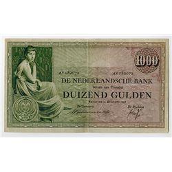 Nederlandsche Bank. 1938. Issued Banknote.