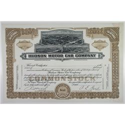 Hudson Motor Car Co. 1949 Production Stock Certificate