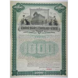 United States Mortgage & Trust Co. 1895 Specimen Bond