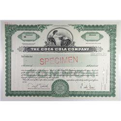 Coca-Cola Company, 2005 Specimen Stock Certificate