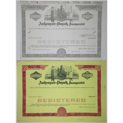 Anheuser-Busch Inc., 1960-70's Proof Registered Bond