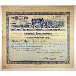 Shell Transport & Trading Co. Ltd., 1940 Issued Stock Certificate