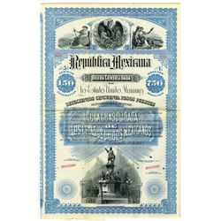 Republica Mexicana, 1885 Specimen Bond