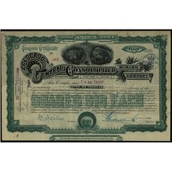 Colorado Central Consolidated Mining Co. Issues Stock Certificate.