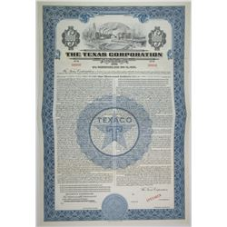 Texas Corporation (TEXACO), 1940 Specimen Bond