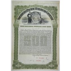 Southern Pacific Railroad Co. 1905 Specimen Bond