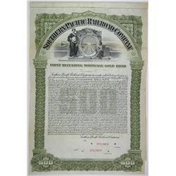 Southern Pacific Railroad Co. 1905 Specimen Bond