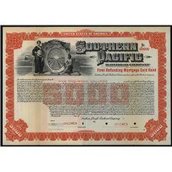Southern Pacific Railroad Co., 1905 Specimen Bond