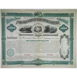 Housatonic Rail Road Co. 1880 Specimen Bond Rarity