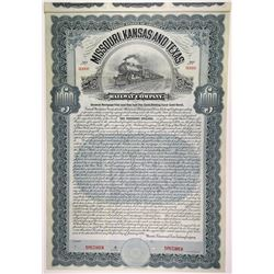 Missouri, Kansas & Texas Railway Co., 1906 Specimen Bond