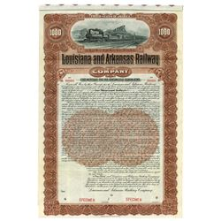 Louisiana & Arkansas Railway Co., 1902 Specimen Bond