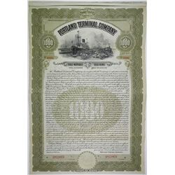 Portland Terminal Co., 1911 Specimen Bond