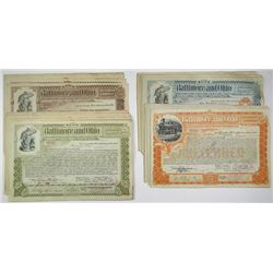 Baltimore and Ohio Railroad Co. Group of 40 Stock Certificates