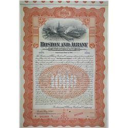 Boston and Albany Rail Road Co., 1910 Specimen Bond