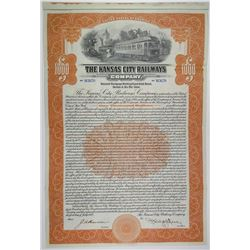 Kansas City Railways Co., 1915 I/U Bond