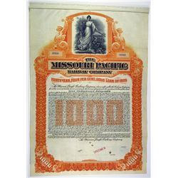 Missouri Pacific Railway Co. 1905 Specimen Bond