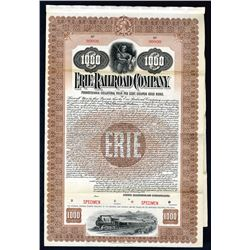 Erie Railroad Co., 1901 Specimen Bond
