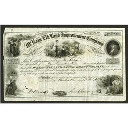 McKean and Elk Land and Improvement Co., 1865 Issued Stock