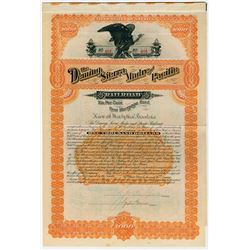 Deming Sierra Madre and Pacific Railroad, 1889 Issued Bond