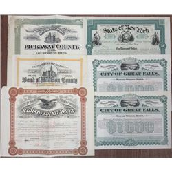 Government/Public Utility I/C Bonds, 1866-1898