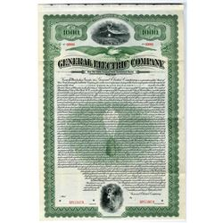 General Electric Co., Spectacular 1912 Specimen Bond