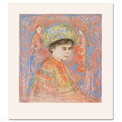 Boy with Turban by Hibel (1917-2014)