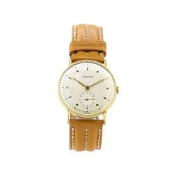 Longines Vintage Wrist Watch - 18KT Yellow Gold
