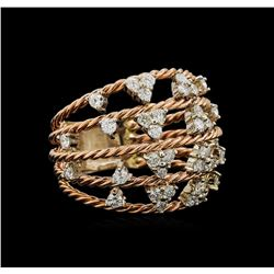 14KT Rose Gold 1.00 ctw Diamond Ring