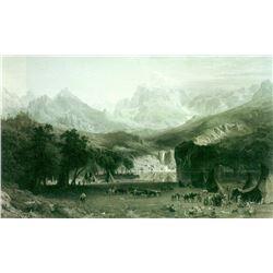 Rockies at Lander's Peak by Albert Bierstadt
