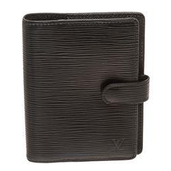 Louis Vuitton Black Epi Leather Agenda PM Cover