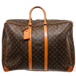 Louis Vuitton Monogram Canvas Leather Sirius 55 Luggage