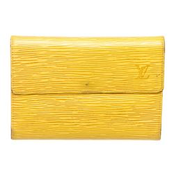 Louis Vuitton Yellow Epi Leather Compact Porte Tresor International Wallet