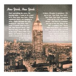"New York, New York by ""Ringo"" Daniel Funes"