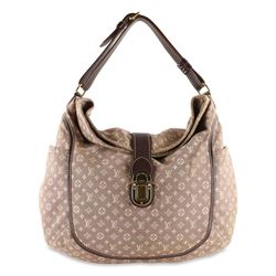 Louis Vuitton Romance Red Sepia Monogram Idylle Canvas Hobo Bag