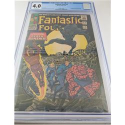 Fantastic Four #52 By Marvel Comics