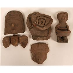 Clay Artifacts from the Mayan and Inca cultures  (115200)