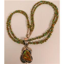 Manassa Turquoise Necklace  (117001)